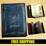 NEW 2016 DESIGNS HARRY POTTER NOTEBOOK JOURNAL & PLANNER 50% OFF