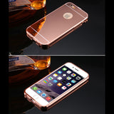 Luxury Aluminum Mirror Ultra Slim Case for iPhone 6, 6S, 6 PLUS or 6S PLUS