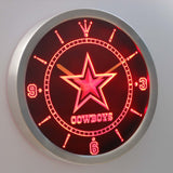 Dallas Cowboys LED Wall Clock