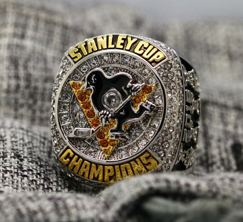 Pittsburgh Penguins 2016 Stanley Cup Championship Replica Ring