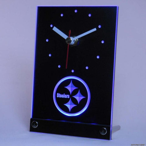 Pittsburgh Steelers Table Desk 3D LED Clock