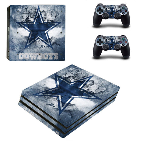 Dallas Cowboys PS4 Pro Skin For Console + Controllers
