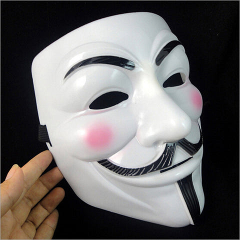 The V for Vendetta Anonymous Cosplay Mask