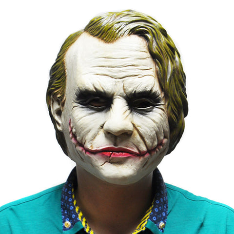 Dark Knight Joker Mask Costume Cosplay