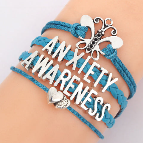 Anxiety Awareness Bracelet - Just Pay Shipping ONLY