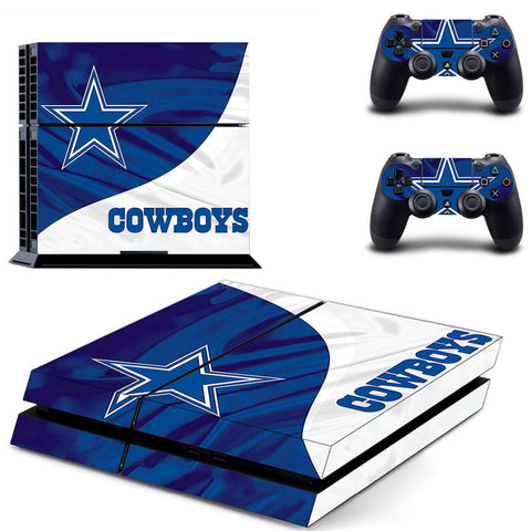 New Dallas Cowboys PS4/XBOX ONE Skin For PS4 + 2 Controllers