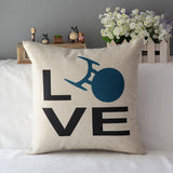 Star Trek Square Cotton Decorative Pillow Cases
