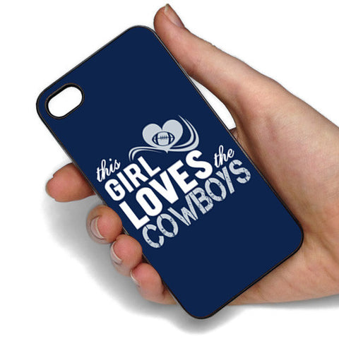 This Girl Loves The Cowboys Phone Case