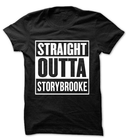 'Straight Outta Storybrooke' Once Upon a Time Women T-shirt