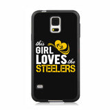 This Girl Loves Steelers Phone Case for iPhone and Samsung Models