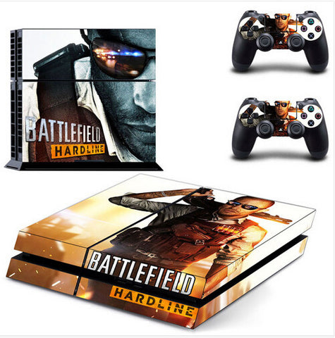 Battlefield Hardline PS4 Sticker Skin