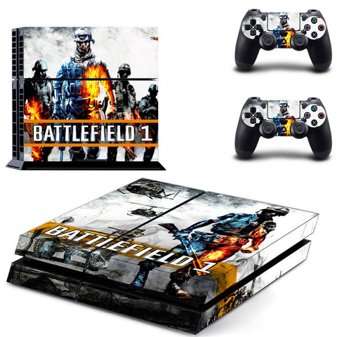 BATTLEFIELD 1 PS4 Skin Sticker