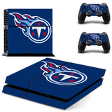 Tennessee Titans Skin For PS4/XBox Console and 2 Controller Protective Sticker