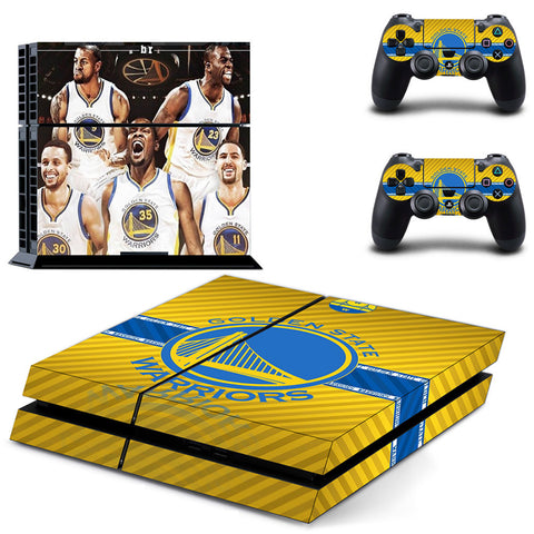 Golden State Warriors PS4/XBOX ONE Skin PS4 & XBOX One Console + 2 Controllers
