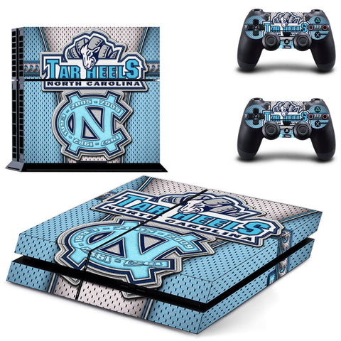 UNC Tarheels PS4/XBOX ONE Skin For Console and 2 Controllers
