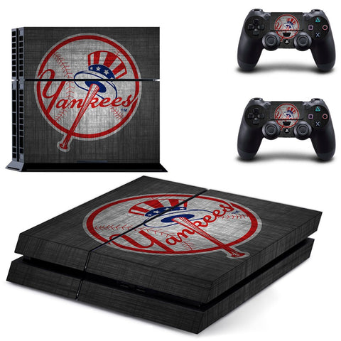 New York Yankees Skin For Console + 2 Controllers