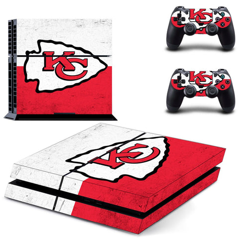 Kansas City Chiefs Skin For Console + Controllers