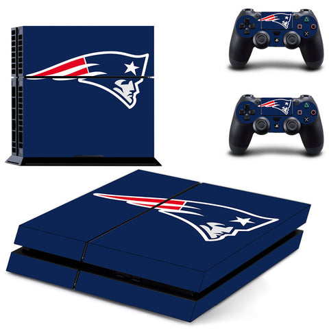 New England Patriots Skin For PS4 or XBOX One + 2 Controllers