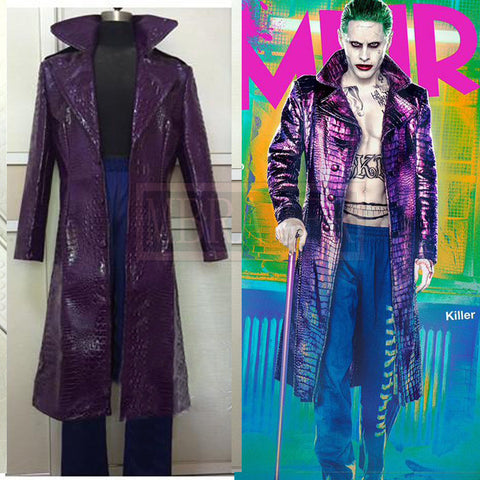 2016 Joker Suicide Squad Cosplay Costume Jared Leto Version