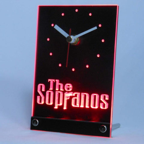 The Sopranos Gun 3D LED Table Clock