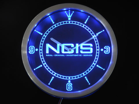 NCIS LED Wall Clock