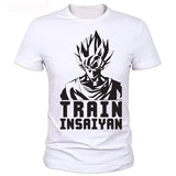 Dragon Ball Z Training Style T-shirts