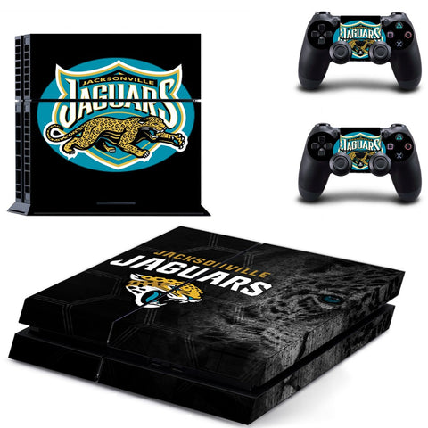 Jacksonville Jaguars PS4 & XBOX One Skin For Console + 2 Controllers