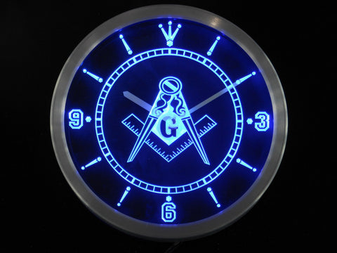 Mason LED Wall Clock