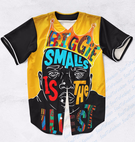 Biggie Smalls is the Illest - Notorious BIG Baseball Jersey (Plus Sizes Available)