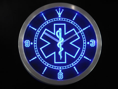 EMS/EMT Paramedic LED Wall Clock
