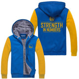 Golden State Warriors Hoodie Winter Jacket