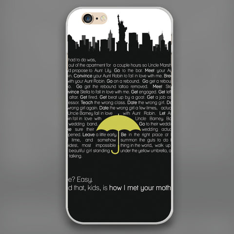 How I Met Your Mother iPhone Phone Case