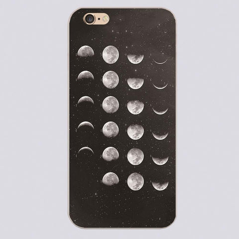 MOON PHASES iPhone Phone Case