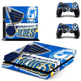 St Louis Blues PS4 & XBOX ONE Skin Skin For Console + 2 Controllers