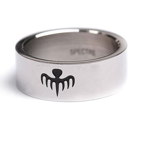 Spectre James Bond 007 Titanium Steel Ring