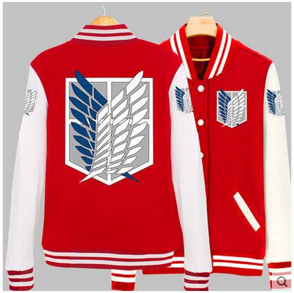 Attack on Titan Casual Jacket