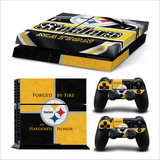 Pittsburgh Steelers Sticker Protective skin for PS4 and Dualshock Controller