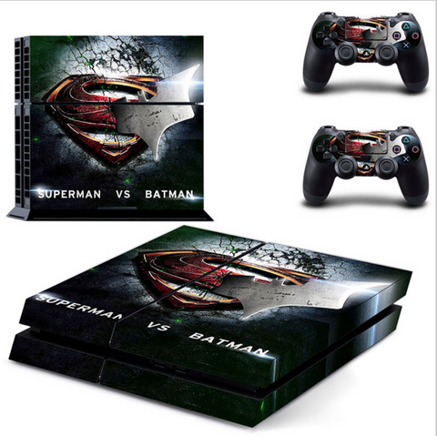 EXCLUSIVE Batman Vs Superman PS4 Vinyl Skin
