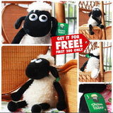 NEW 2015 SHAUN THE SHEEP PLUSH DOLL