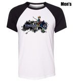 Kingdom Hearts Symbol Design Printed T-Shirt