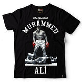 MUHAMMAD ALI T The Greatest Variety Style Cotton T-Shirt