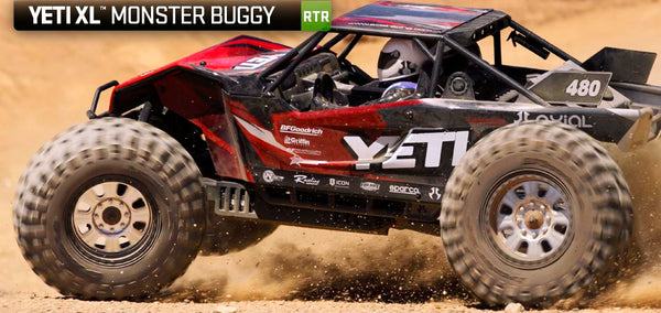 YETI XL MONSTER BUGGY 1/8TH SCALE ELECTRIC 4WD RTR