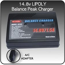 14.8v Lipoly Balancing-Peak Charger with A-C Adapter - CoolPremier CoolPremier - CoolPremier CoolPremier - CoolPremier