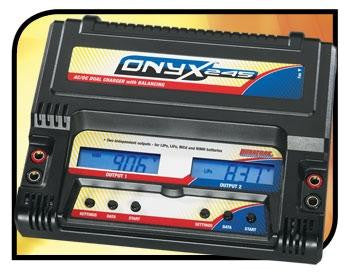Duratrax Onyx Onyx 245 AC-DC Dual Charger -