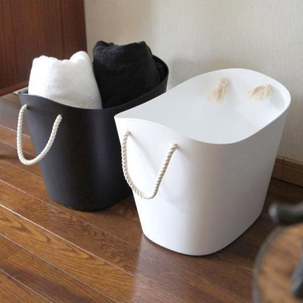 Balcolore Laundry & Storage Basket - White