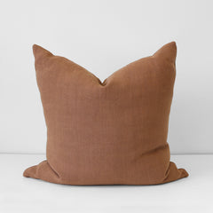 Terracotta Italian Linen Cushion