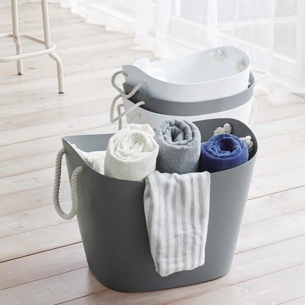 Balcolore Laundry & Storage Basket - Grey