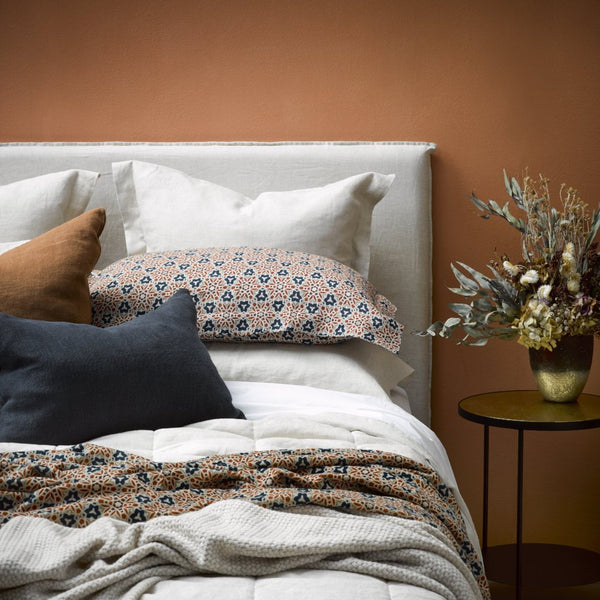 Linen Slip Cover Headboard