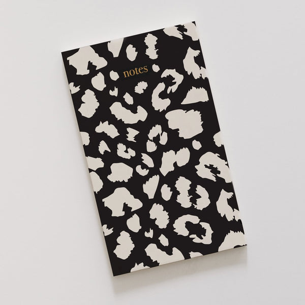 Black Leopard Notebook