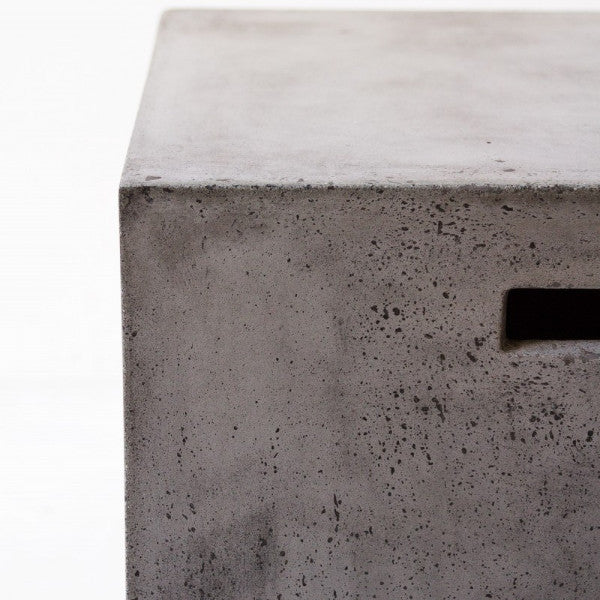 Concrete stool - cube